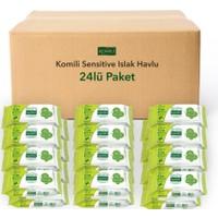 Komili Sensitive Islak Havlu 24 lü Paket 1440 Yaprak