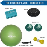 Fox Fitness Pilates - İncelme Seti