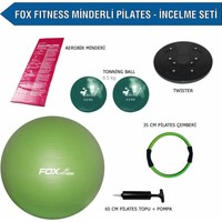 Fox Fitness Minderli Pilates-İncelme Seti