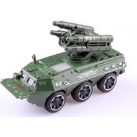 Nani Toys Işıklı ve Sesli Çek Bırak Diecast Tank