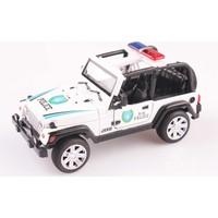Nani Toys Işıklı ve Sesli Diecast 1/24 Polis Jeepi
