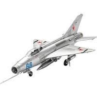 Revell 1:72 Ölçek Mig-21 F-13 Fishbed Model Uçak (03967)