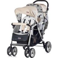 Chipolino Tandem Mocca İkiz Bebek Arabası