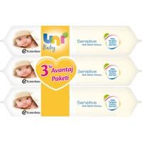 Uni Baby Sensitive Islak Havlu 56 Yaprak / 3 Adet