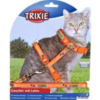 Trixie kedi göğüs tasması seti Turuncu 22-36cm/10mm