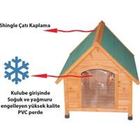 Tommy Ahşap Köpek Kulübesi 96x112x105 cm XLarge