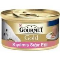Purina Gourmet Gold Kıyılmış Sığır Etli Kedi Konserve Mama 85 gr