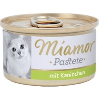 Miamor Pastete Tavşanlı Kedi Konserve Yaş Mama 85 gr