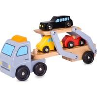 Classic World Ahşap Araba Taşıma Tırı ve Araçlar