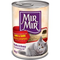 MırMır Lamb & Game Chunks in Gravy Kedi Konservesi 400 Gr
