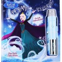 Disney Karlar Ülkesi: Elsa İle Sen De Söyle (Oku-Söyle Öykü Kitabı)