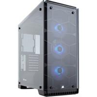 Corsair Crystal 570X Mid Tower RGB LED Fanlı Cam Kasa-CC-9011098-WW