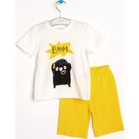 Hello Baby Canavar Pijama Takımı