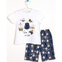 Hello Baby Tavşan Pijama Takımı