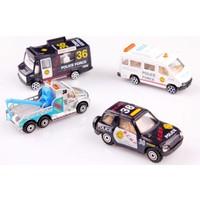 Nani Toys 4'lü Diecast Polis Araçları Seti
