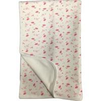 Babycorner 5184 Kız Battaniye Çift Kat Penye Flamingo