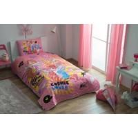 Taç Lisanslı Winx Flower Yatak Örtüsü Seti