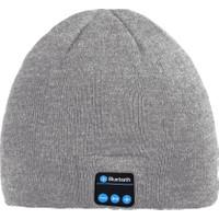 Case 4U Kablosuz Bluetooth Kulaklık Bere Açık Gri