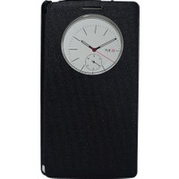 Case 4U LG G4 Stylus Flip Cover Siyah (Uyku Modlu)