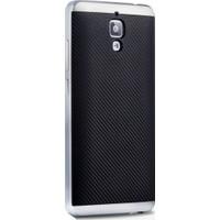 Case 4U Xiaomi Mi 4 Hybrid Korumalı İnce Arka Kapak Gümüş (Cam Ekran Koruyucu Hediyeli)*