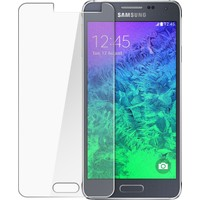 Case 4U Samsung Galaxy Alpha Ekran Koruyucu (,Cizilmez Anti Shock)