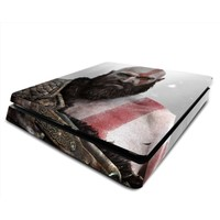 StickerMarket PS4 Slim God of War Sticker Seti