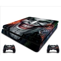 StickerMarket PS4 Slim Joker Sticker Seti
