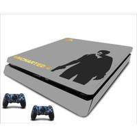 StickerMarket PS4 Slim Uncharted4 Sticker Seti