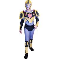 Transformers Bumblebee Çocuk Robot Kostümü 7-9 Yaş