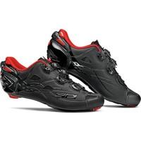 Sidi Shot LTD Carbon Yol Ayakkabısı Siyah-Kırmızı 44
