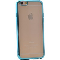 Case 4U Apple İphone 6S Lazer Kaplama Silikon Kılıf Turkuaz