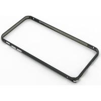 Case 4U Apple iPhone 6 Ultra Thin Metal Çerçeve Siyah