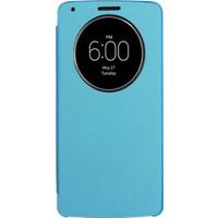 Case 4U LG G3 Flip Cover Mavi ( Uyku Modlu)*