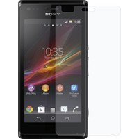 Case 4U Sony Xperia M Ekran Koruyucu ( Ultra Şeffaf Parmak izi bırakmaz )