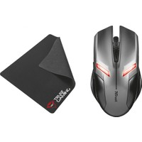 Trust Ziva 21512 Oyuncu Mouse + Ultra İnce Mouse Pad