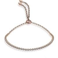 Lio Jewels 925 Ayar Altın Kaplama Gümüş Su Yolu Asansörlü Bileklik