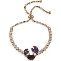 Lio Jewels 925 Ayar Altın Kaplama Gümüş Yengeç Asansörlü Bileklik