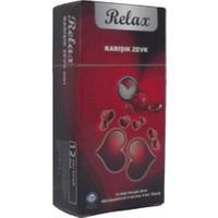 Relax Mix Condoms 2 Kutu 12li Karışık Prezervatif