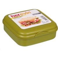Herevin Herevin Orbit Yeşil Sandviç Kutusu