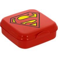 Herevin Herevin Superman Kırmızı Sandviç Kutusu