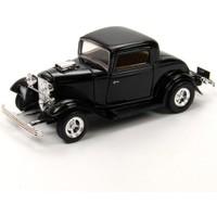 Motor Max 1:24 1932 Ford Coupe (Siyah)