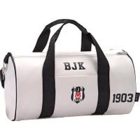 Hakan Çanta Bjk Silindir Spor Çantası - 87134 (Suni Deri)