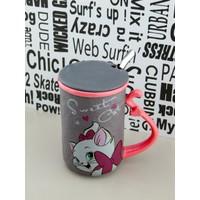 Lucena Sweet Cat - Smile Kaşıklı Kapaklı Kupa