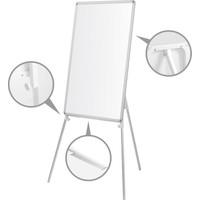 Penguen 65 cm x 100 cm Teleskopik Ayaklı Laminat Yazı Tahtası Beyaz