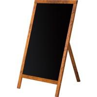 Penguen 45 cm x 90 cm Menü Tahtası Kara Tahta (Tebeşir Tahtası)
