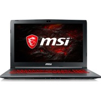 """MSI GV62 7RD-1617XTR Intel Core i5 7300HQ 8GB 1TB GTX1050 Freedos 15.6"""" FHD Taşınabilir Bilgisayar"""