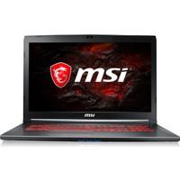 """MSI GV72 7RD-882XTR Intel Core i7 7700HQ 16GB 1TB + 128GB SSD GTX1050 Freedos 17.3"""" FHD Taşınabilir Bilgisayar"""