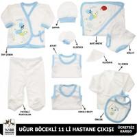 Modakids Erkek Bebek Uğur Böcekli 11'li Hastane Çıkışı 051 - 42878 - 015
