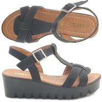 Perfect 5030 Dolgu Topuk Kadın Sandalet