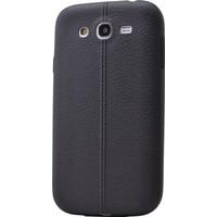 Case 4U Samsung Galaxy J7 Desenli Silikon Kılıf Siyah